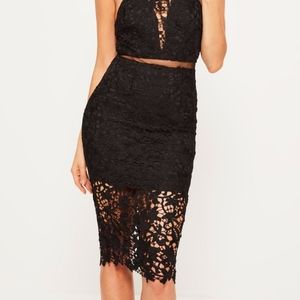 Missguided Dresses - Mesh Midi Formal Dress